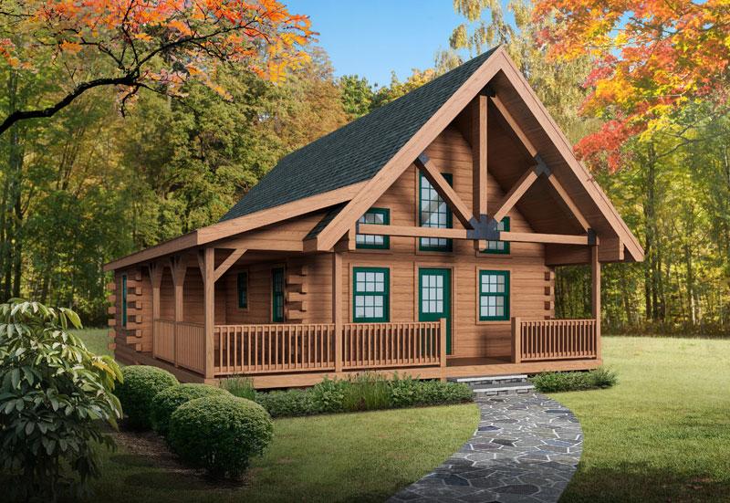 Eagle-Rock,Timberhaven Log Home,3 Bedrooms,1 Bathroom