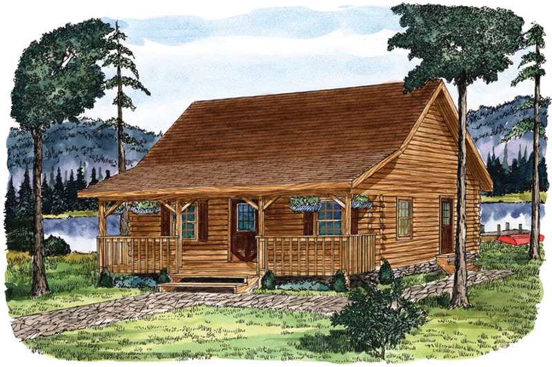Juniata , Timberhaven Log Home, 2 Bedrooms,1 Bathroom,Log Cabins
