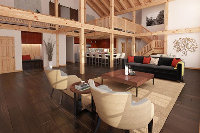 Heritage,Timberhaven Log Home,3 Bedrooms,3 Bathrooms