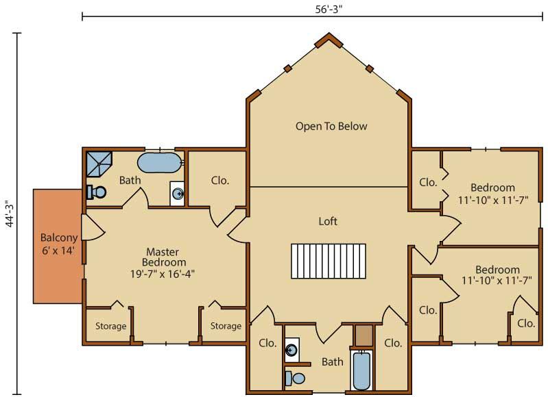 Millwood,Timberhaven Log Home,3 Bedrooms,2 Bathrooms