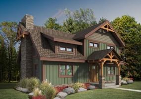 Craftsman Timber Frame Exterior